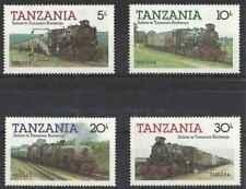 Timbres Trains Tanzanie 263/6 ** lot 24786