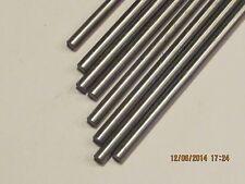 "5 MM  Steel Rod / Bar Round  12L14  CRS   24 "" Long 2 Pcs"