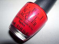 OPI Nail Lacquer **A OUI BIT OF RED** NL F19 Nail Polish~NEW
