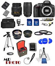 Nikon D5300 Digital SLR Camera + 32GB Value Bundle + 18-55mm VR + 70-300mmG