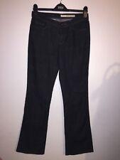 Women's DKNY SOHO JEAN Donna Karen New York Black Denim Boyfriend Jeans 10 W28