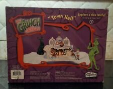 2000 Department 56 Dr. Seuss How The Grinch Stole Christmas Town Hall