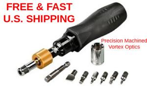 VORTEX OPTICS Precision Machined Comfortable Handle Torque Wrench MOUNTING KIT