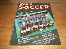 Fútbol Revista World Soccer ABRIL 1985 Tottenham Hotspur Albania Tele SANTANA