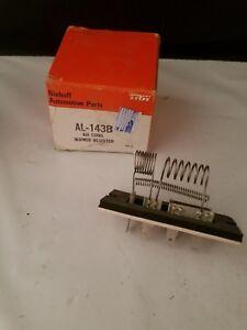 NOS HVAC Blower Motor Resistor-A/C Blower Motor Resistor Niehoff AL143B NOS