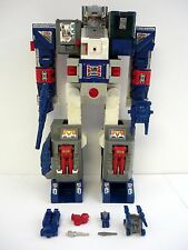 TRANSFORMERS FORTRESS MAXIMUS Vintage G1 Figure Headmaster City COMPLETE 1987