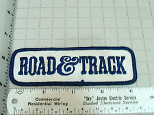 Road And Track Racing Patch (#3021)