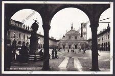 PAVIA VIGEVANO 59 CARTOLERIA Cartolina FOTOGRAFICA viaggiata
