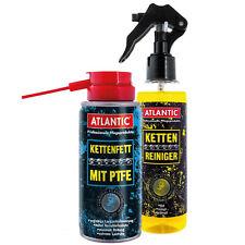 Atlantic Kettenspray m.Teflon 150ml+Kettenreiniger 200ml Kette (41,40 EUR pro l)