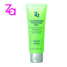 [SHISEIDO] ZA Facial Cleansing Foaming Gel & Mineral Makeup Remover 100ml NEW