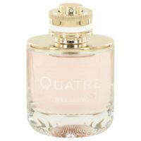 Quatre by Boucheron 3.3 oz 100 ml EDP Spray TESTER Perfume for Women