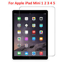 1/2x For Apple iPad Mini 1 2 3 4 5 Clear Tempered Glass Film Screen Protector-WI