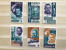 Jordan - 1966 MNH Set of 6 Astronauts Stamps ref160