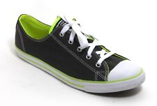 Converse all Star Trainers Low Top Ladies Neon Grey Edition 42