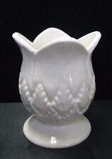Vintage Daga Hawaii Pottery Pineapple Planter Vase White