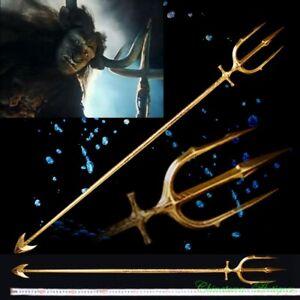 """Journey To The West"" Bull Demon King Three Pronged Halberd Sword Spear #3242"