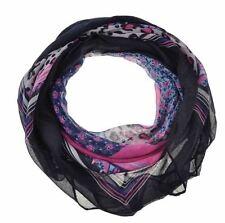 Écharpes et châles foulard noir à motif Floral pour femme