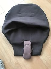 Quinny Buzz Newborn First Stage Memory Foam Seat Unit Pad Cover Brown