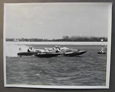 Jim McCormick EXCALIBUR E-101 vs E-125 & E-103 photo 8x10 hydroplane boat racing