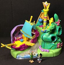 Polly Pocket Mini 💛 1997 - Disney's Peter Pan Neverland Playset - Bluebird Toys