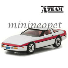 GREENLIGHT 86517 THE A TEAM 1984 CHEVROLET CORVETTE C4 1/43 DIECAST MODEL WHITE