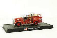 GMC -1941 Second World War US Fire Truck Diecast Model 1:87 No 59