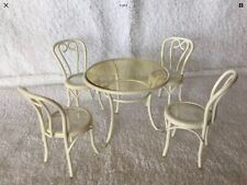 1/12th scale dolls house miniature Pretty Table And Chairs