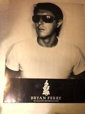 ORIGINAL 1977 BRYAN FERRY  IN YOUR MIND PROMO POSTER ATLANTIC RARE ROXY MUSIC