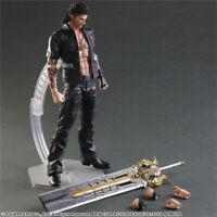 Play Arts Kai  FF Final Fantasy XV Gladiolus Amicitia Action Figure Figurine IB