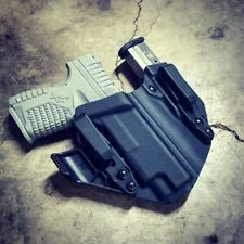 """Springfield XDS 9/40/45 4""""- Appendix IWB Side Car Kydex Concealed Carry Holster"""