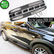 Fits for Chevrolet Captiva 2008-2017 running board nerf bars side steps