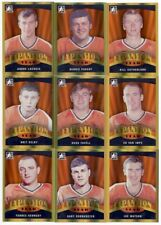 2012 ITG In The Game Broad Street Boys Hockey 100-Card Gold Parallel Base Set