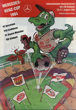 10 11.08.1994 VfB Stuttgart, FC Barcelona, PSV Eindhoven, FC Bayern Munich
