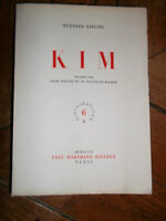 Rudyard Kipling Kim exemplaire sur lana numéroté, SUPERBE