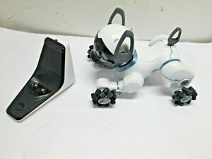 WowWee Model 0805 Chip Robot Toy Dog White Dock No Ball