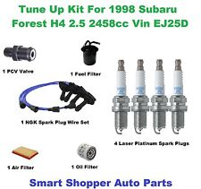Tune Up Kit for 1998 Subaru Forester H4 2.5L Spark Plug Wire Set, Air Oil Filter