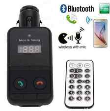 Wireless Bluetooth LCD SD USB FM Transmitter Modulator Car Kit MP3 Player Remote