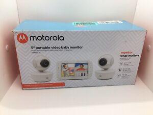 motorola 5 portable video baby monitor MBP36XL-2