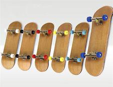 Skate Board Grit Box Complete Wooden Fingerboard Finger Foam Tape Maple Wood New