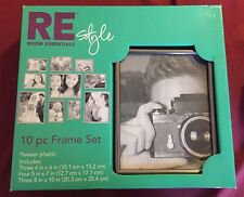 RE Room Essentials Style 10 Piece Picture 📸 Photo Frame Set