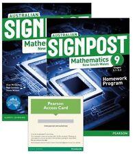 Australian Signpost Mathematics New South Wales 9 (5.1-5.3) by Alan McSeveny...