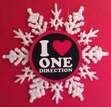 """One Direction """"I Love One Direction"""" Ornament New for Boys & Girls"""