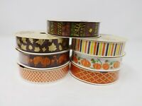 "Greenbrier 5/8"" x 3 yds Fall / Autumn Ribbon - New"