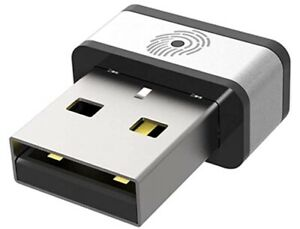 USB Lettore Impronte Digitali per Windows 7, 8 & 10 Hello, PQI My Lockey 360°