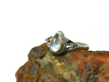 MOONSTONE  Sterling  Silver  925  Gemstone   RING  -  Size: Q