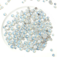 1440pcs Crystal AB Nail Rhinestones Plain Glitter Stones Gems DIY 3D Decor gifts