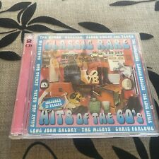 CLASSIC RARE HITS OF THE 60'S CD,  2 CDS