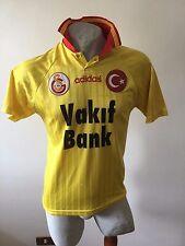 GALATASARAY TURKEY MATCH WORN 1996/1997 FOOTBALL SHIRT HAKAN ADIDAS #9 AWAY