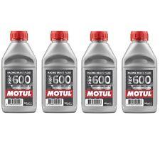 Motul RBF 600 FL - 2L AM - Fully Synthetic DOT 4 Racing Brake Fluid (4 x 0.5L)