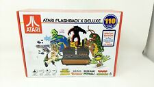 Atari Flashback X Deluxe Retro Console 120 Built-in Games